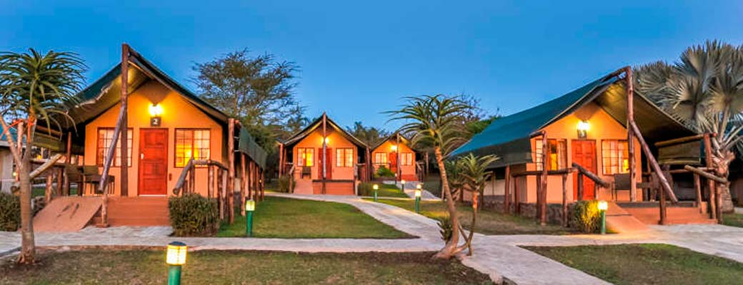 Four safarilodges